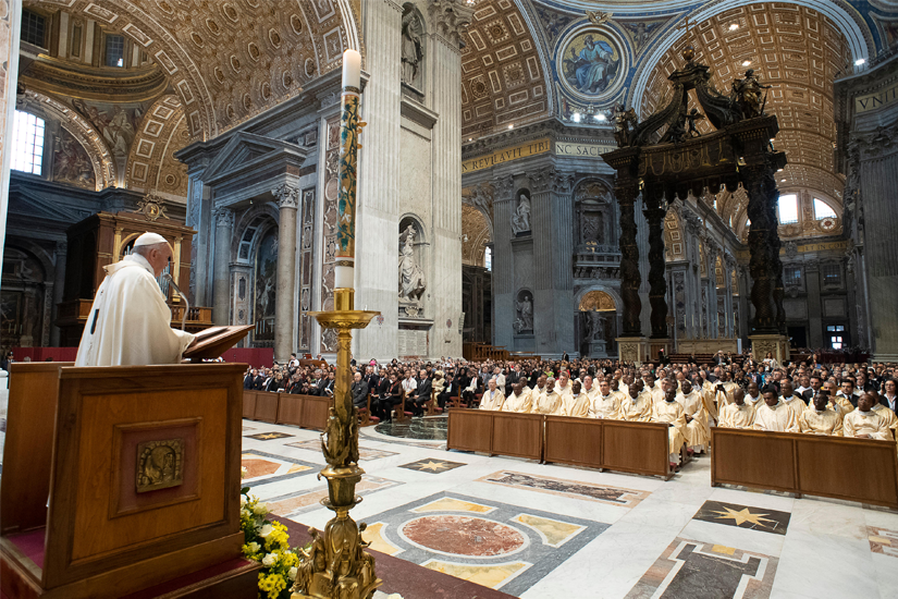 2019 05 24 PopeFrancisCaritasAssembly