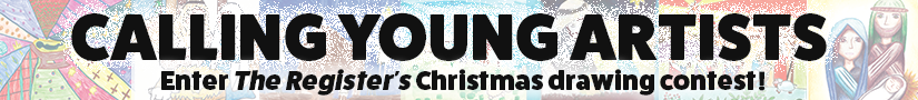 Christmas drawing contest banner