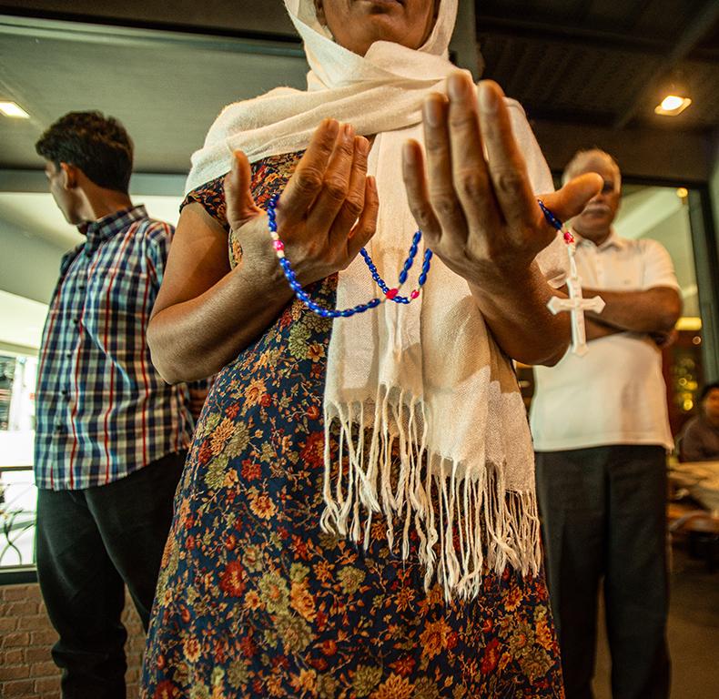 Rosary in Bangkok