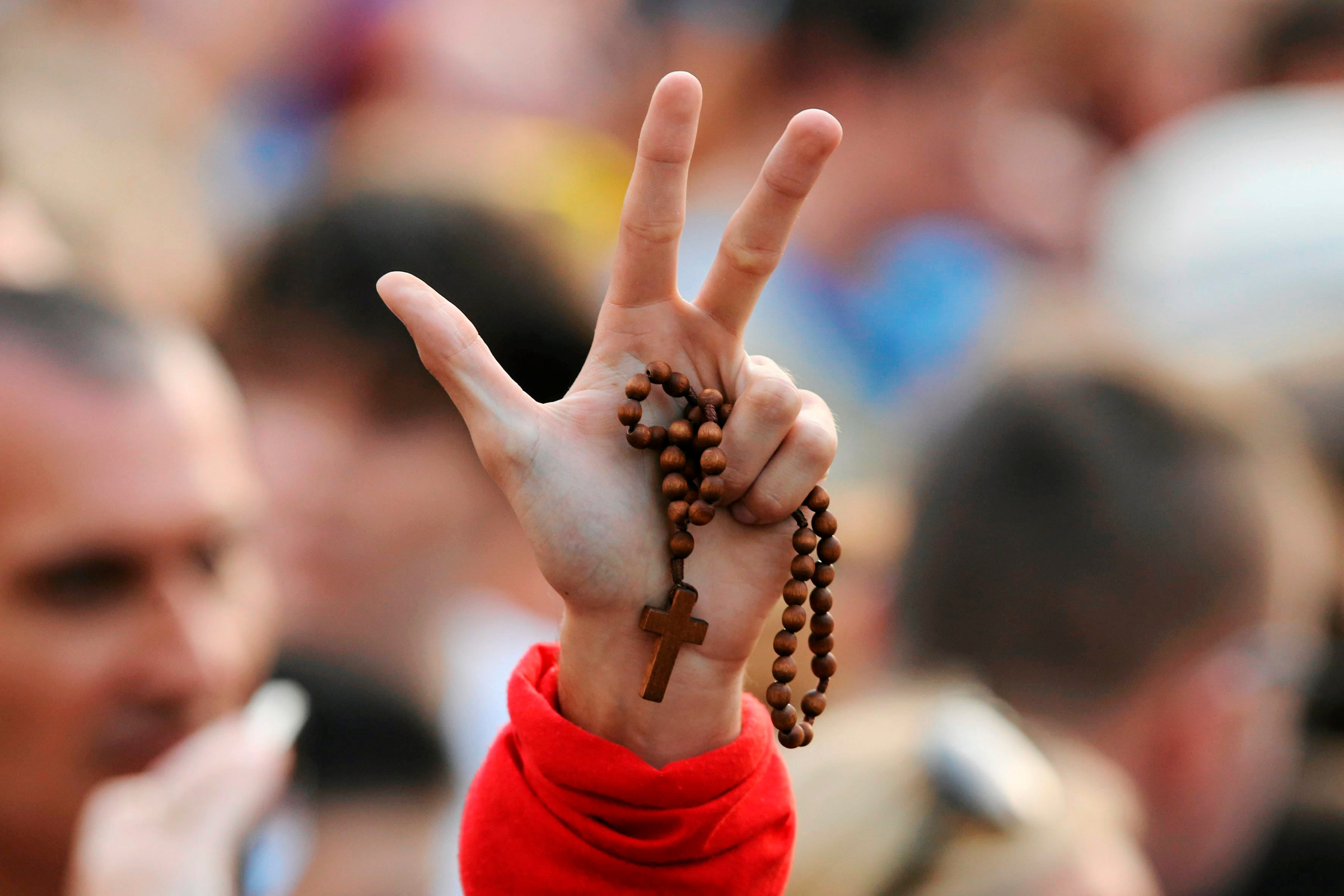 Rosary wave
