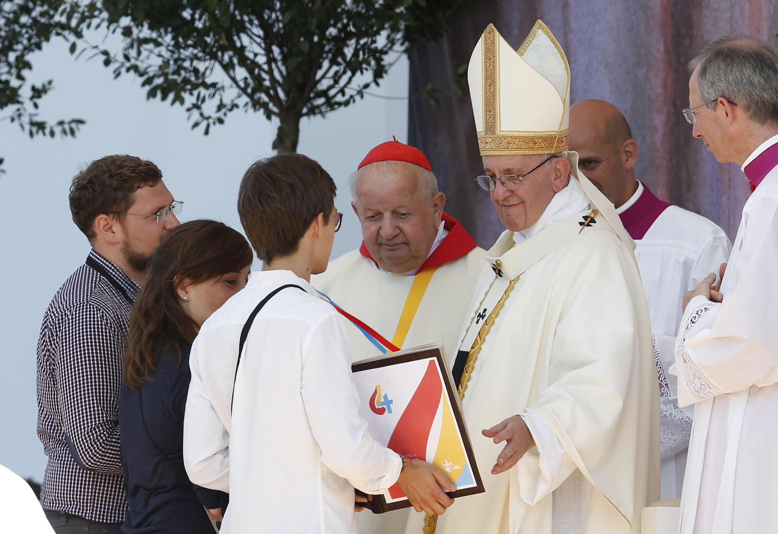 Pope Francis at WYD closing Mass