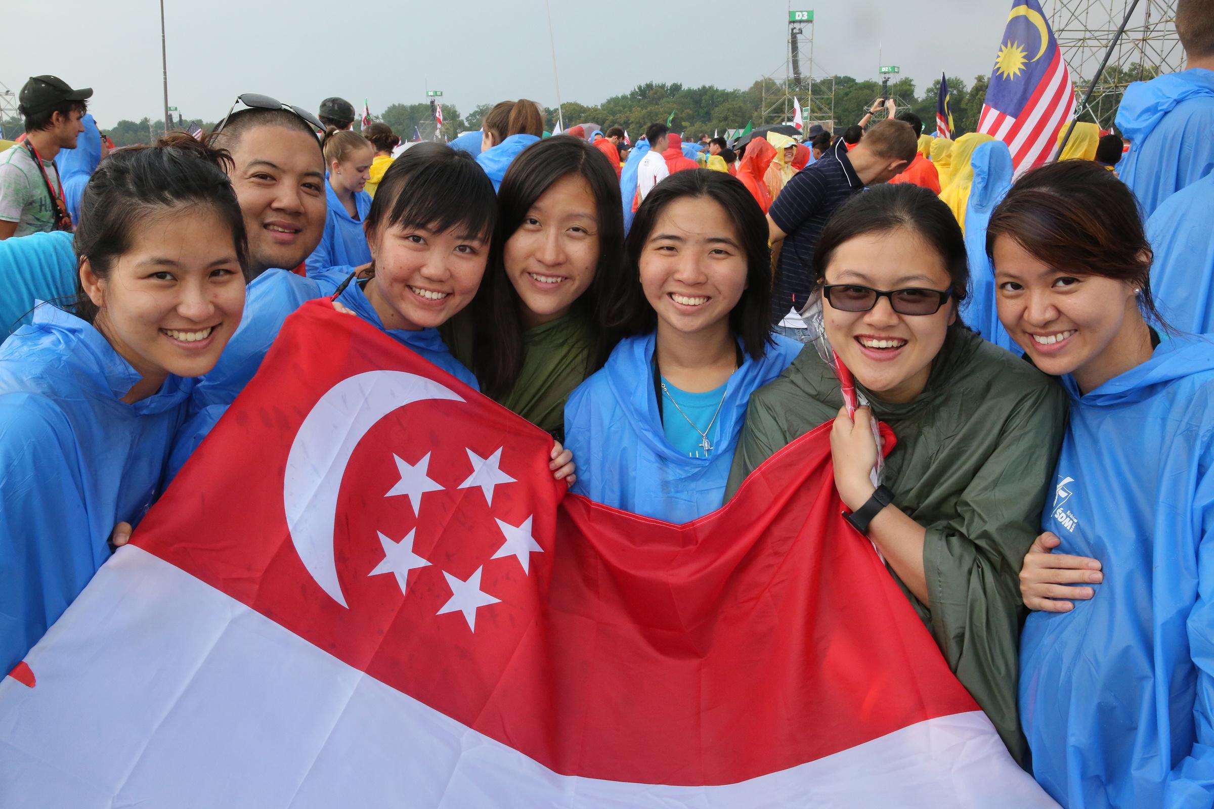 Singaporean pilgrims