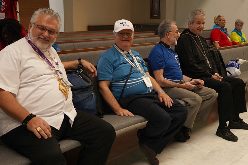 Canadian bishops in Panama