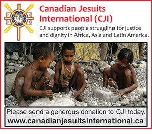 Canadian Jesuits International - Please send a generous donation