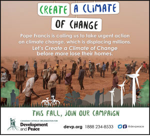 Development and Peace - Create a climate of change!