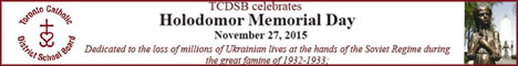 TCDSB celebrates Holodomor Memorial Day