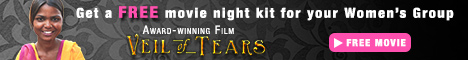 Award-winning film Veil of Tears. Get a FREE movie night kit for your Women's Group. Free movie.