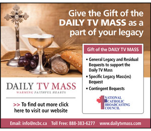 Daily TV Mass (July 28 - Aug 28, 2019)
