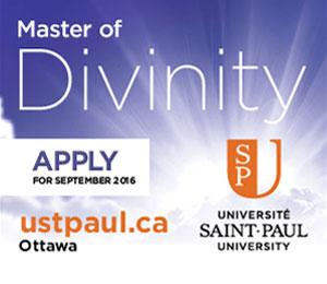 Saint-Paul University - Master of Divinity