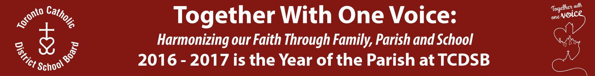 TCDSB - Year of parish (Oct 27-30)