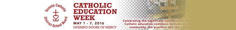 TCDSB - Catholic Education Week