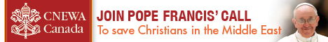 Join Pope Francis' call to save Christians in the Middle East.