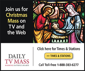 Join us for Christmas Mass on TV and the Web