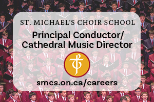 PRINCIPAL CONDUCTOR/CATHEDRAL MUSIC DIRECTOR