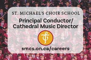 PRINCIPAL CONDUCTOR/CATHEDRAL MUSIC DIRECTOR