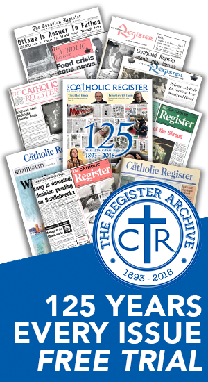 Free Access to The Catholic Register's Digital Edition and Archive