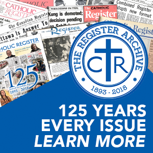Learn more about The Catholic Register Archive