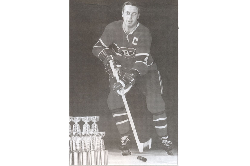 An archive photo of Montreal Canadiens hockey player Jean Beliveau, who died on Dec. 2, 2014. He lived until the age of 83. (Photo from Victoriaville archives/vic.to/jeanbeliveau)