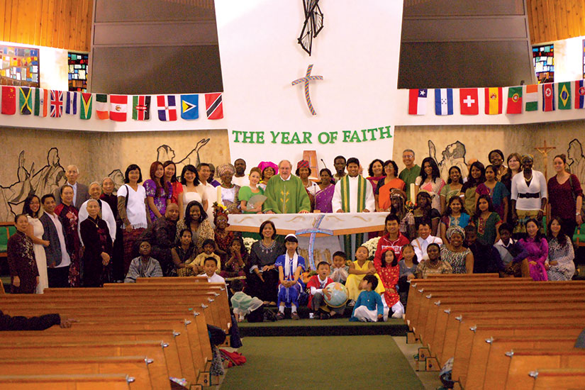 Speaking in many tongues is hallmark of parish life