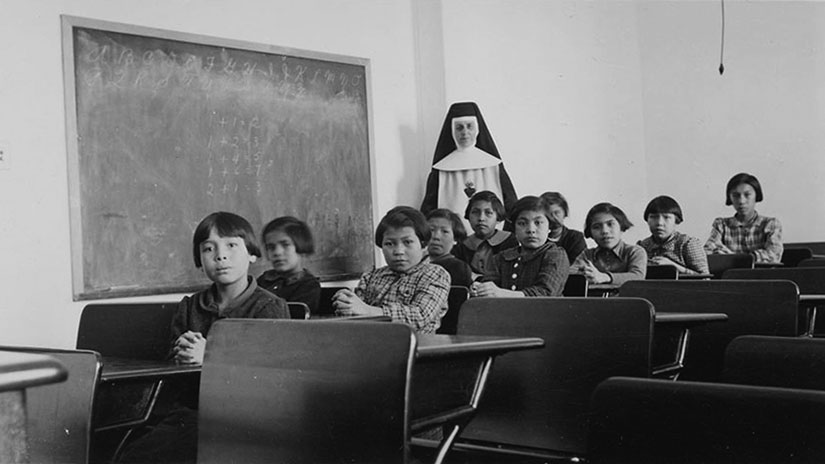 residential school web