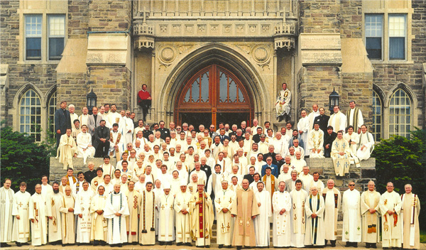 The St. Peter's community celebrates the seminary's 75th anniversary.