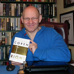 Michael Coren shows he is a defender of the faith in his book Why Catholics are Right. (Photo courtesy of Michael Coren)