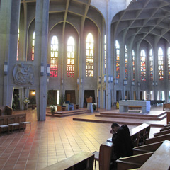 A monk prays in the silence of the Benedictine's Westminster Abbey in Mission, B.C. Salt+Light Television is airing its look inside the walls of the abbey in This Side of Eden on Palm Sunday, April 17.