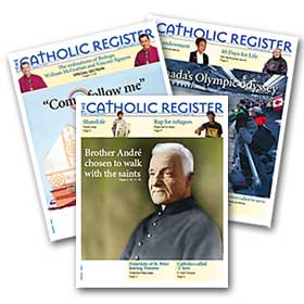 Catholic Register papers
