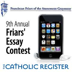 Friar's writing contest