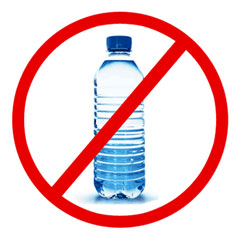 Bottled water free zone