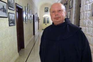 Franciscan Father Hanna Jallouf
