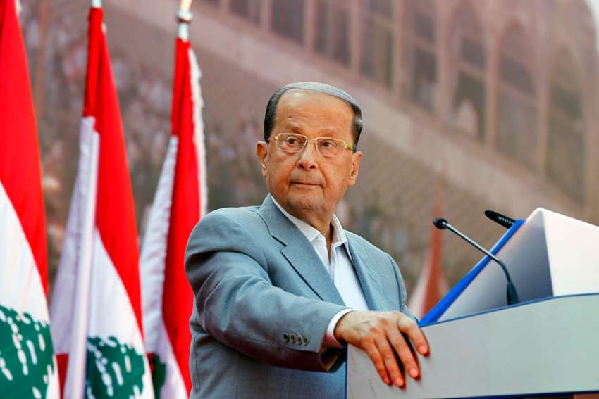 The Lebanese parliament elected 81-year-old Michel Aoun, pictured in 2015, as president Oct. 31, ending a two-and-a-half-year power vacuum.