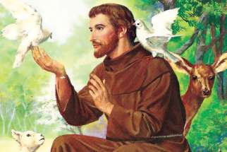 St. Francis of Assisi's canticle is animated by faith and praises God for all of creation.
