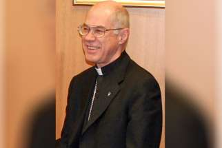 Retired Vancouver archbishop Raymond Roussin died in Winnipeg April 24 at the age of 75.