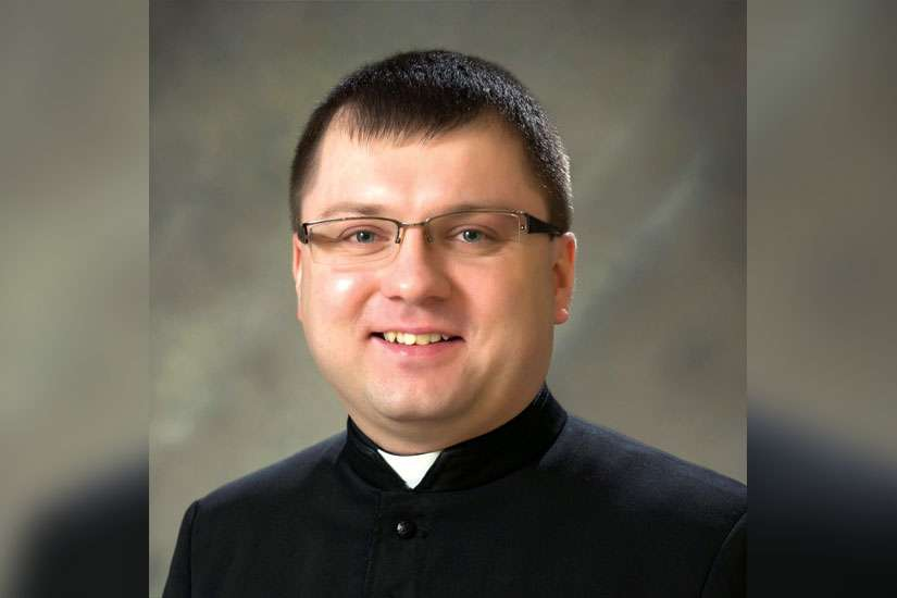 A photo of Fr Thomasz Dzida from March 2015. The 34-year-old associate pastor of Scarborough's Our Lady Queen of Poland was on pilgrimage in Jordan when he suffered a massive stroke and died a few days later.