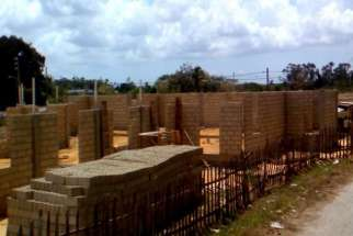 The primary construction of Cuba's first Catholic Church in 60 years is almost complete. Is is being funded by St. Lawrence Catholic Church in Tampa, Florida.