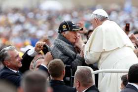 Show value of life by affectionately caring for elderly, Pope says