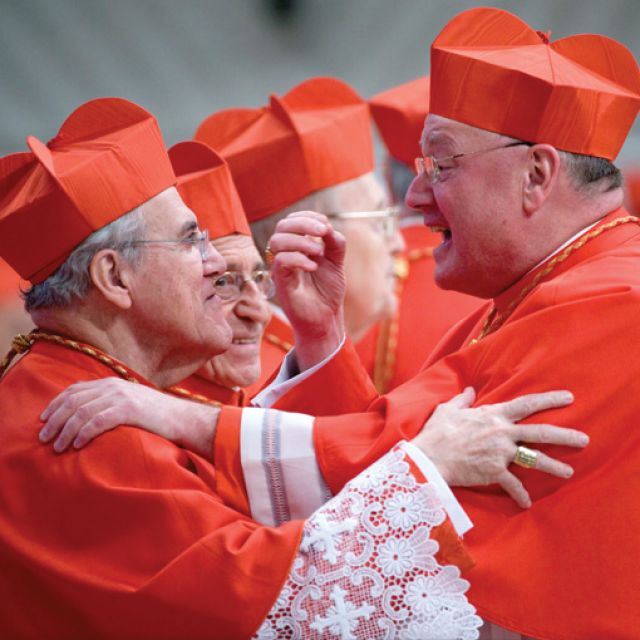 The recent consistory for new cardinals in Rome offers a lesson for a parish's liturgical life, observes Fr. de Souza.