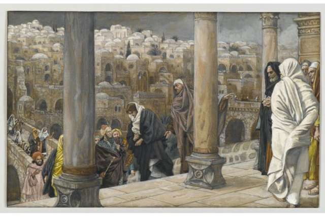 """The Gentiles Ask to See Jesus"" by James Tissot (painted sometime between 1886-1894)"