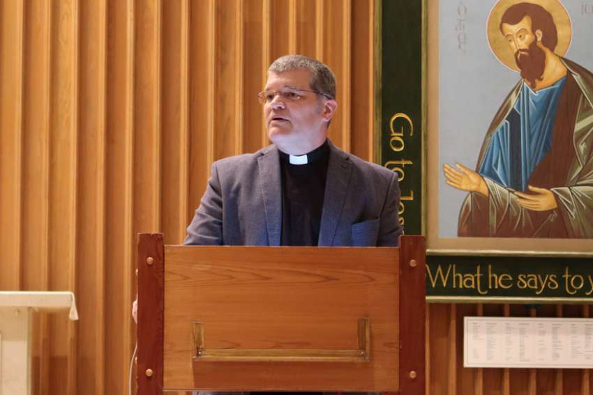 Regis College professor Fr. Gilles Mongeau, pictured, speaks on pastoral care for LGBT youth. His talk is part of a series that runs Oct. 13-Nov. 3.