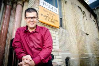 University of St. Michael's College chaplain Angelo Minardi is hoping to enhance the relationship between the school and St. Basil's parish that is located on campus.