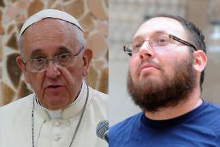 Steven Sotloff (right), the second American journalist reportedly beheaded by Islamic State extremists, is pictured in a 2010 photo. Cardinal Pietro Parolin, Vatican secretary of state, sent a letter on behalf of Pope Francis to express the pontiff's condolences to the Sotloff family for the loss of their son.
