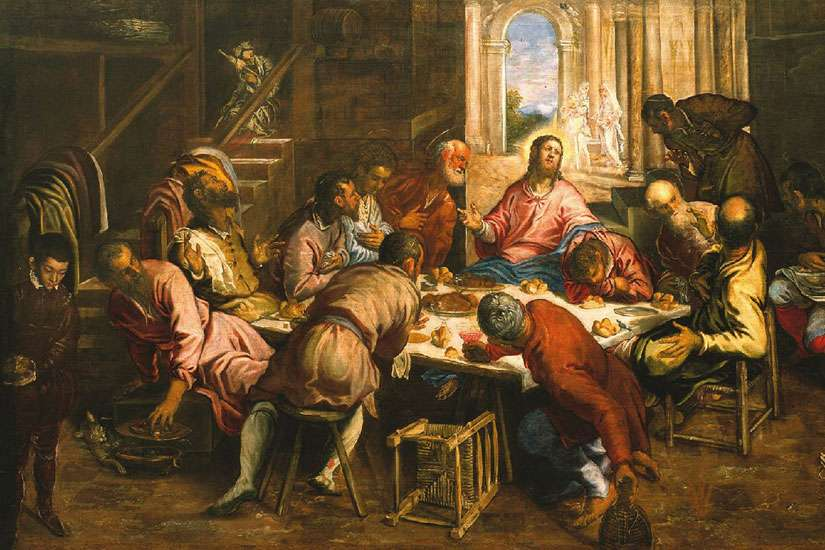 "Renaissance painter Tintoretto's ""The Last Supper"" to adorn Holy See's official Pavilion at Milan Expo 2015."