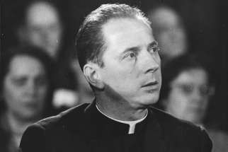 "Retired Bishop Remi De Roo, seen here in a Vatican II-era photo from 1967, recalled the Second Vatican Council as the first time the church had asked itself ""who am I?"""