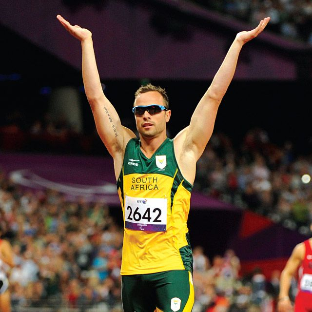 Olympic and Paralympic sprinter Oscar Pistorius is the latest hero to fall, charged with the murder of his girlfriend. Perhaps we should be wary of turning people into heroes.