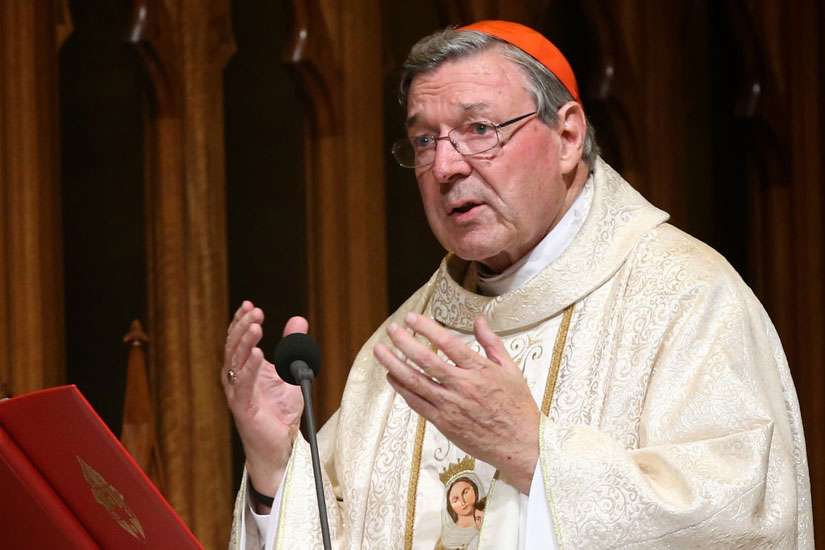 Australian Cardinal George Pell told Irish delegates that preserving religious freedoms will be the new political struggle.  The cardinal is pictured in a 2014 photo in Sydney.