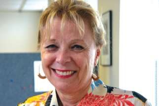 Bev Eckensweiler, trustee at the Bruce-Grey Catholic District School Board.