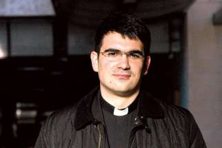 Fr. Borna Puskaric of Croatia recently wrapped up media studies at Toronto's Ryerson University.