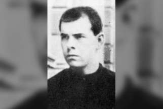 Claretian Brother Ferran Saperas Aluja, pictured, is one of more than 100 martyrs from the Spanish civil war that the Pope recognized.