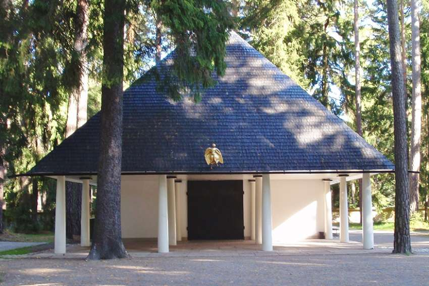 "The Vatican picked the ""woodland chapel"" by the late Swedish architect Gunnar Asplund, built in 1920, as a model."
